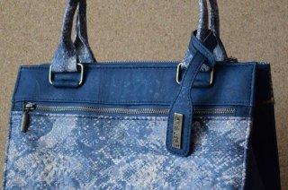 Parafa női táska - Kézitáska kék/sötétkék