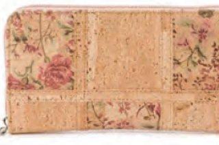 Parafa női virágos pénztárca