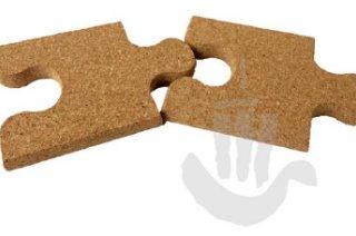 Edényalátét Puzzle - 2 darabos szett