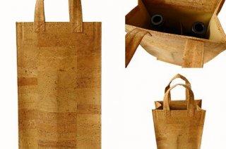 2 Palackos táska – parafa -textil