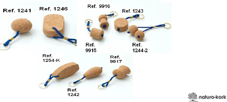 Parafa Kulcstartó - Pezsgős dugó